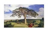 Big Pine in Bruhl Valley Near Moding, 1838 Giclee Print by Ludwig Ferdinand Schnorr von Carolsfeld