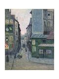 Place Saint Andre Des Arts, Rue Suger, Paris Giclee Print by Maxime Emile Louis Maufra