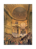 Duke of Wellington's Funeral in St. Paul's Cathedral, 1852 Giclee Print by Louis Haghe