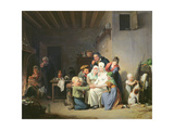 The Game of Pied De Boeuf, C.1824 Giclee Print by Louis Leopold Boilly