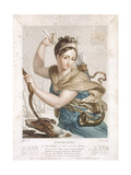 Frimaire (November/December), Third Month of the Republican Calendar, Engraved by Tresca, C.1794 Giclee Print by Louis Lafitte