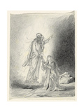 Touch Me Not; Noli Me Tangere Giclee Print by Mihaly von Zichy