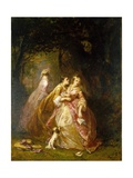 The Letter, 1862 Giclee Print by Louis Eugene Gabriel Isabey