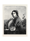 The Tambourine Girl of Procida Giclee Print by Louis Leopold Robert