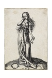 The Third Foolish Virgin, C. 1480-1488 Giclee Print by Martin Schongauer