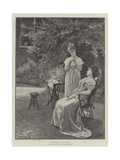 Confidences Giclee Print by Lionel Charles Henley