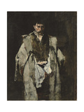 Tramp at Night; Un Vagabond De Nuit Giclee Print by Mihaly Munkacsy