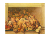 Poor Box at the Opera, 1830 Giclee Print by Louis Leopold Boilly