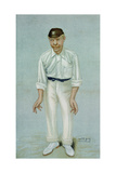 Bobby', Caricature of the Cricketer Robert Abel, Published 5th June 1902 in Vanity Fair Giclee Print by Leslie Mathew Ward