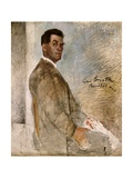 Franz Heinrich Corinth, the Artist's Father, 1888 Giclee Print by Lovis Corinth