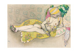 The Yellow Sultana, 1916 Giclee Print by Leon Bakst
