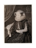 Mary Sidney Giclee Print by Marcus Gheeraerts The Younger