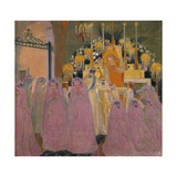 The Communicants, 1907 Reproduction procédé giclée par Maurice Denis