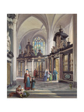 St. Bavon, Ghent, 1867 Giclee Print by Louis Haghe