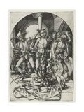 The Flagellation Giclee Print by Martin Schongauer