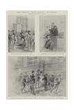 The Dreyfus Court-Martial at Rennes Giclee Print by Melton Prior