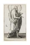St. Simon Giclee Print by Lucas van Leyden