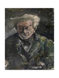 Georg Brandes, 1883 Gicléetryck av Lovis Corinth
