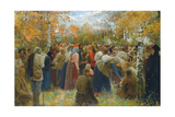 To the Holy Places, 1911 Giclee Print by Lukjan Vasilievich Popov