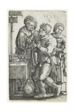 The Dentist, 1523 Giclee Print by Lucas van Leyden