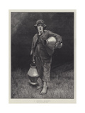 A Cornish Milk-Boy Giclee Print by Marianne Stokes