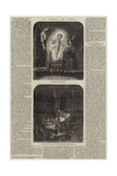 Le Sabot De Noel Giclee Print by Leopold Flameng