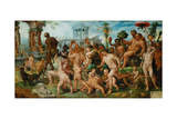 The Triumph of Bacchus, 1536-7 Giclee Print by Maerten van Heemskerck