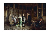 The Parvenus, 1872-1877 Giclee Print by Luigi Rossi