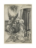 The Annunciation, C. 1480 Giclee Print by Martin Schongauer