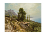 Near Ay-Petri in the Crimea, 1890 Giclee Print by Lef Feliksovich Lagorio