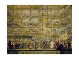 Masked Ball Giclee Print by Luis Paret y Alcazar