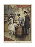 The Lucky Tub Giclee Print by Mary L. Gow