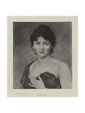 A Gipsy Girl Giclee Print by Ludwig Knaus