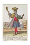A Baker, C.1735 Giclee Print by Martin Engelbrecht