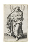 St. Matthew, 1510 Giclee Print by Lucas van Leyden