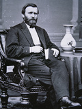 Ulysses Simpson Grant (1822-85) Photographic Print by Mathew Brady