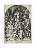 Christ Crowned with Thorns Giclee Print by Martin Schongauer