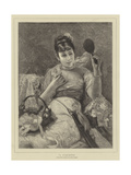 A Coquette Giclee Print by Leon Herbo