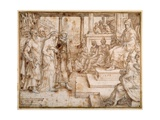 Susannah Accused by the Elders, 1562 Giclee Print by Maerten van Heemskerck