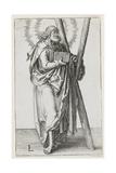 St. Andrew, 1510 Giclee Print by Lucas van Leyden