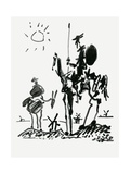 Don Quixote of La Mancha (The Ingenious Gentleman Don Quixote of La Mancha) by Miguel De Cervantes Reproduction procédé giclée par Miguel de Cervantes Saavedra