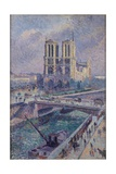 Notre Dame, 1899 Giclee Print by Maximilien Luce