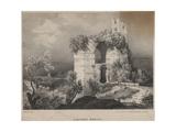 Acqueduc Romain, 1827 Giclée-Druck von Louis Jules Frederic Villeneuve