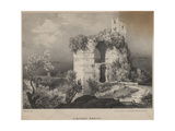 Acqueduc Romain, 1827 Giclee Print by Louis Jules Frederic Villeneuve