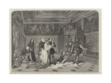 Antechamber of the Tribunal of the Inquisition, in the Ducal Palace, Venice Giclee Print by Louis Haghe