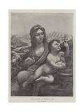 Virgin and Child Giclee Print by  Leonardo da Vinci