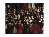 Heaven or All Saints' Altarpiece Giclee Print by Ludovico Brea