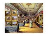 The Exhibition, 1835 Giclee Print by Mary Ellen Best