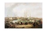 Opening of the South Dock, Sunderland, 1850, 1853 Giclee Print by Mark Thompson