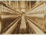 Spinner in Lancaster Cotton Mills, South Carolina, 1908 Photographic Print by Lewis Wickes Hine